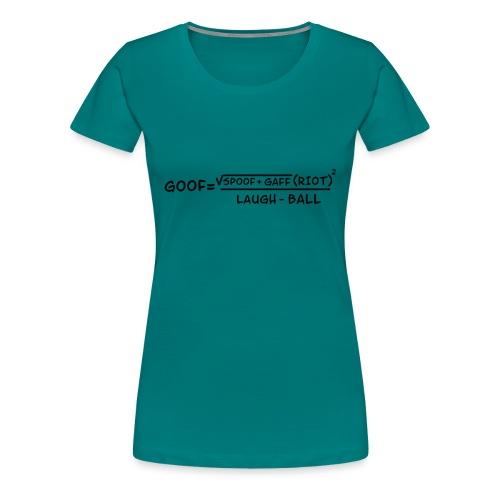 gaff text3 - Women's Premium T-Shirt