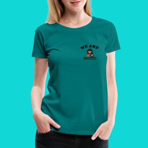You are Beautiful Black Woman - Women's Premium T-Shirt