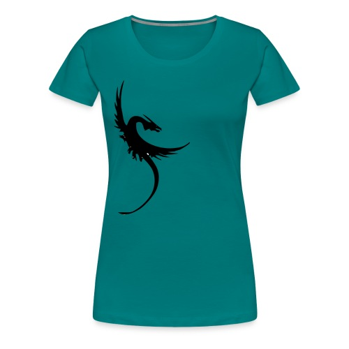 I fly with the mother of dragons - Women's Premium T-Shirt