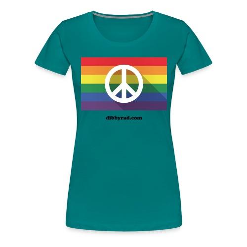 Peace pride dibbyrad - Women's Premium T-Shirt