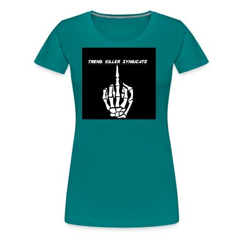 tksmiddlefingershirt - Women's Premium T-Shirt