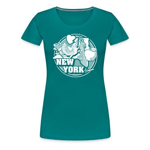 I NEW YORK LOVE - Women's Premium T-Shirt