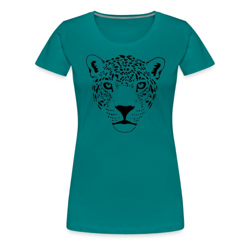 jaguar cougar cat puma panther leopard cheetah - Women's Premium T-Shirt