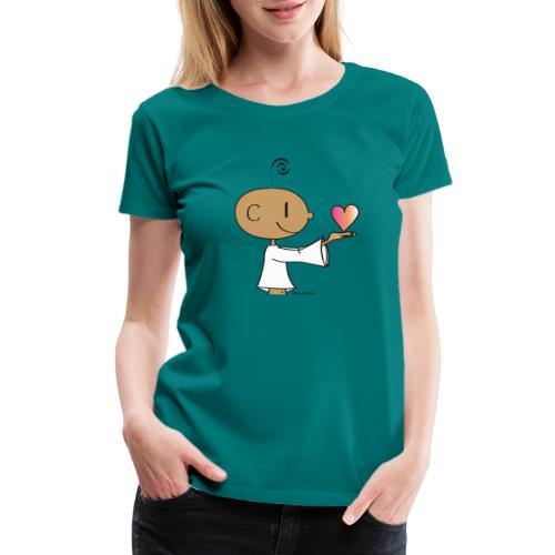 The little Yogi - Women's Premium T-Shirt