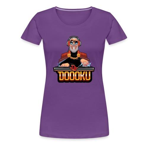 DJ DOOKU - Women's Premium T-Shirt