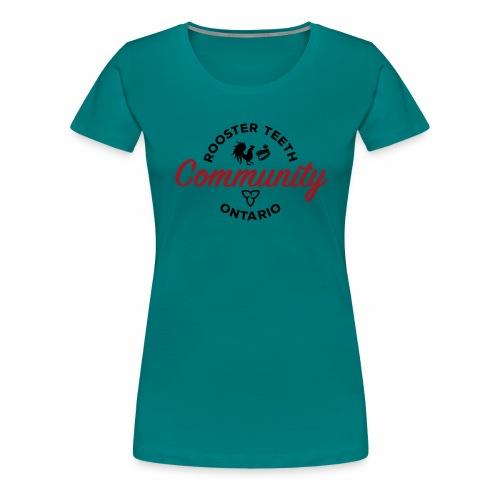 Rooster Teeth Ontario Community - Women's Premium T-Shirt