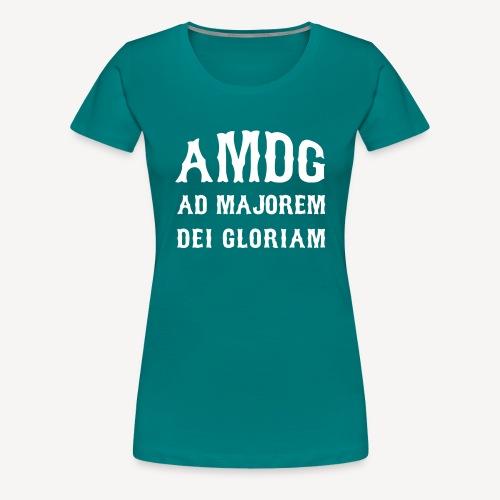 AMDG - Women's Premium T-Shirt