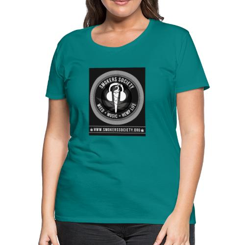 Smokers Society - Women's Premium T-Shirt