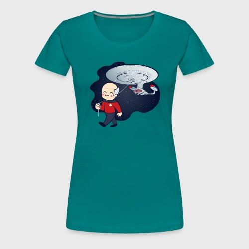 Picard Balloon - Women's Premium T-Shirt