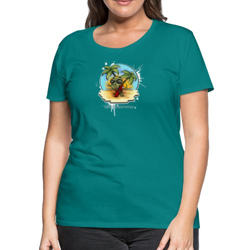 let's have a safe surf home - Women's Premium T-Shirt
