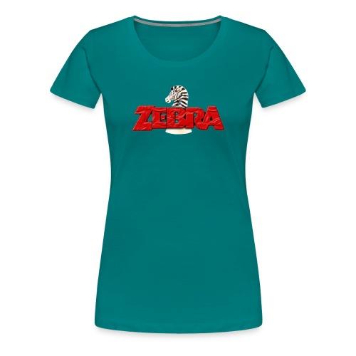 Zebra No Tellin Lies band - Women's Premium T-Shirt
