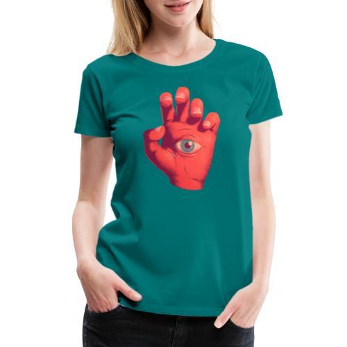EYE HAND - Women's Premium T-Shirt