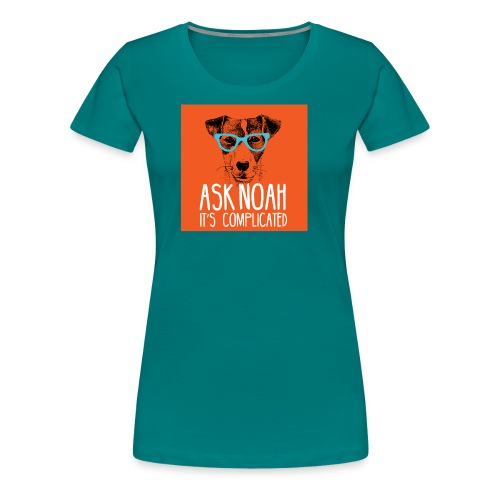 Ask Noah Christian Funk - Women's Premium T-Shirt