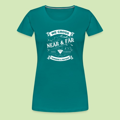 Vintage Near and Far - Women's Premium T-Shirt