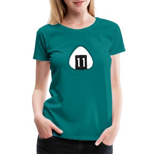 Onigiri Highway 11 Hawaii (dropshadow) - Women's Premium T-Shirt