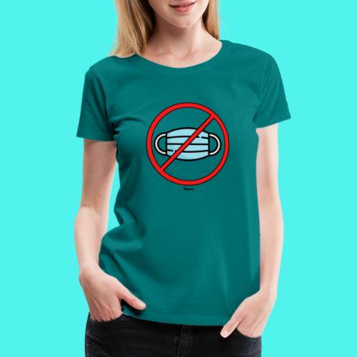 BMG- No Mask Collection - Women's Premium T-Shirt