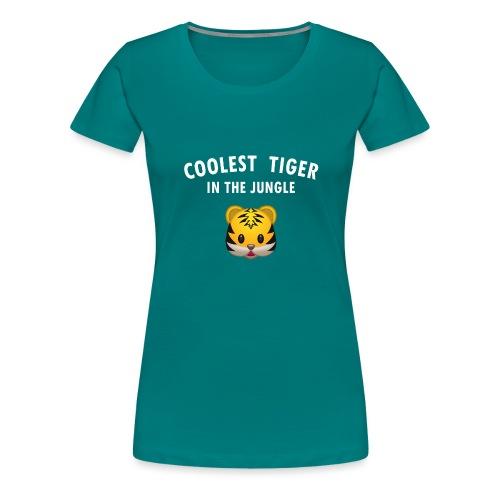 Coolest Tiger Hoodie - Women's Premium T-Shirt