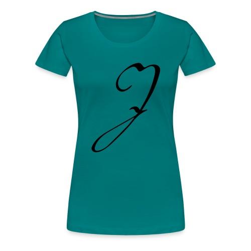 Letter J - Women's Premium T-Shirt