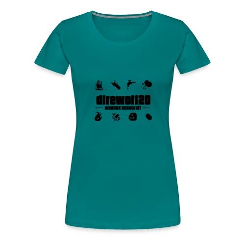 Diretext Black3 png - Women's Premium T-Shirt