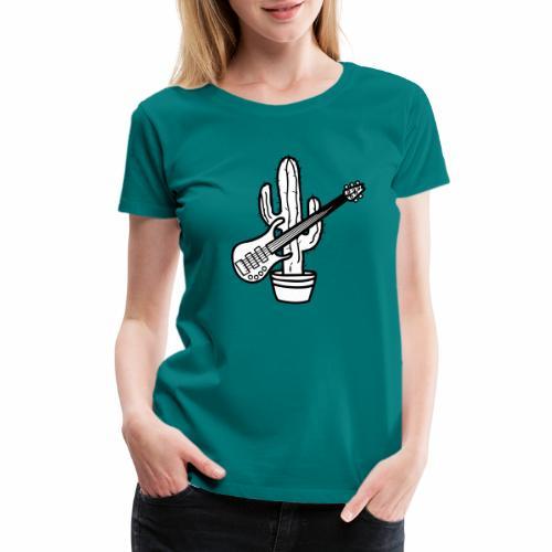 cactussolo - Women's Premium T-Shirt