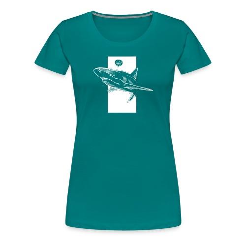 Huh Shark Predator - Women's Premium T-Shirt