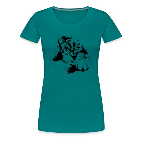 With Transparent Background - Women's Premium T-Shirt
