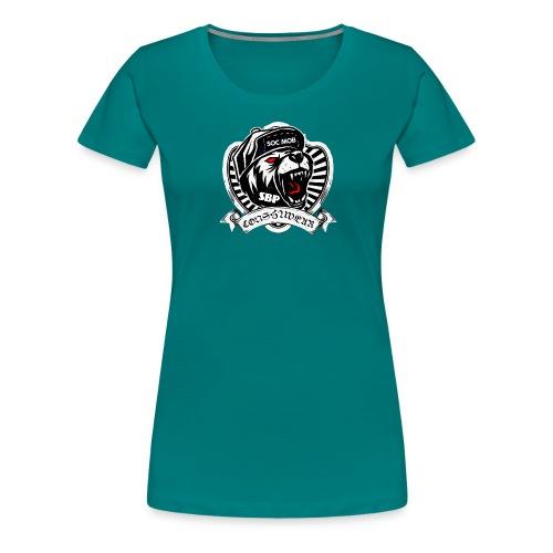 CONSHA WEAR TIGER HEAD LOGO SOC MOB SBP - Women's Premium T-Shirt