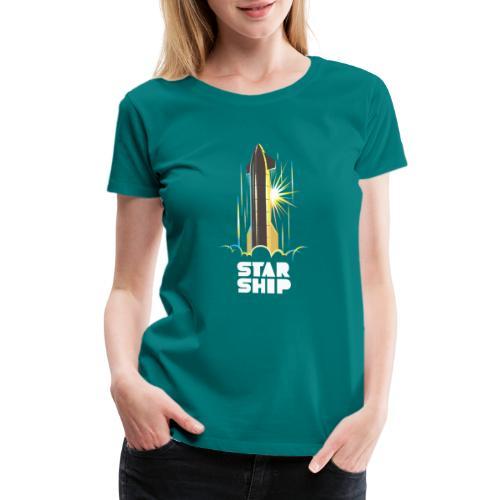 Star Ship Earth - Dark - Women's Premium T-Shirt