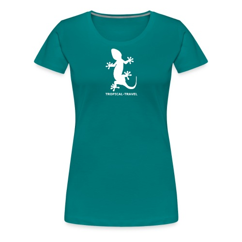 tropical travel - Women's Premium T-Shirt