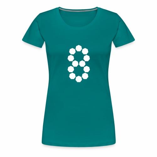 Heptagons - Women's Premium T-Shirt