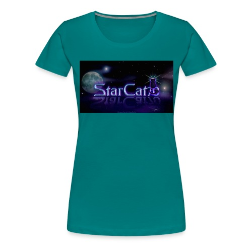 StarCat70 Design copy jpg - Women's Premium T-Shirt
