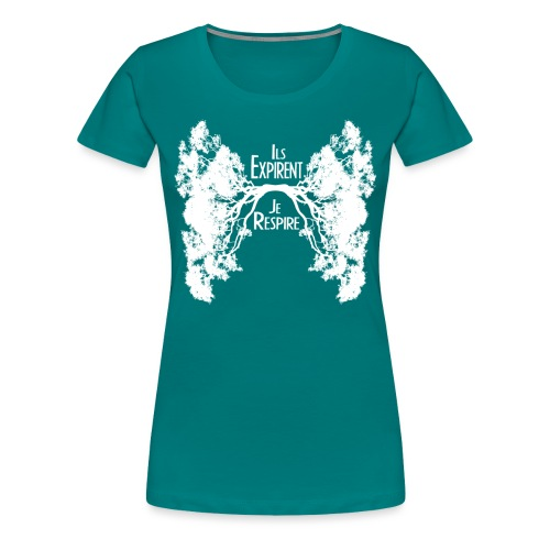 Oxygène Blanc - Women's Premium T-Shirt