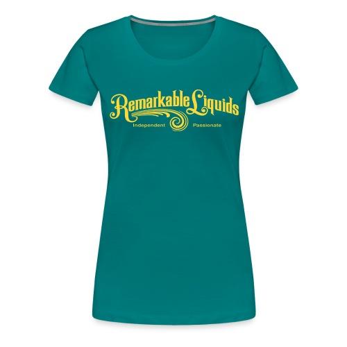 RLMAINGOLD - Women's Premium T-Shirt