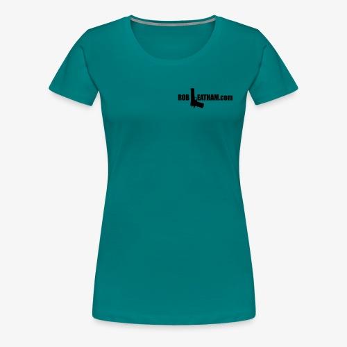Official Rob Leatham Logo - Women's Premium T-Shirt