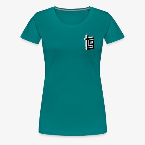 ThrillGeek TG Logo Shirt - Women's Premium T-Shirt