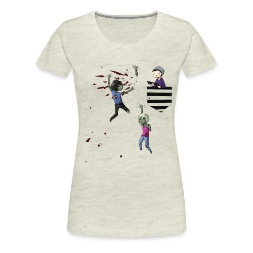 MRH Zombie Hunter - Women's Premium T-Shirt