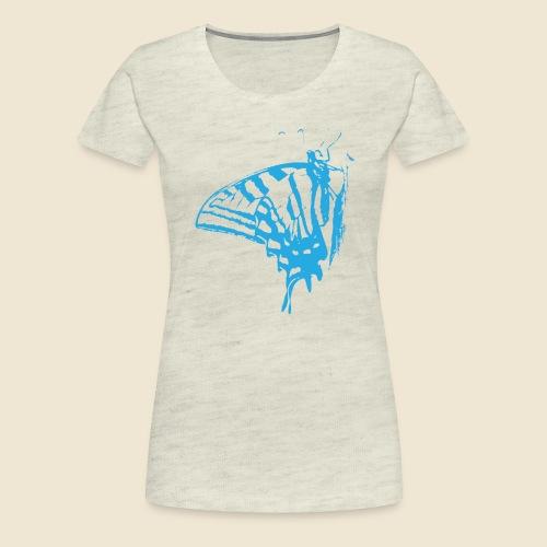 Blue Butterfly - Women's Premium T-Shirt
