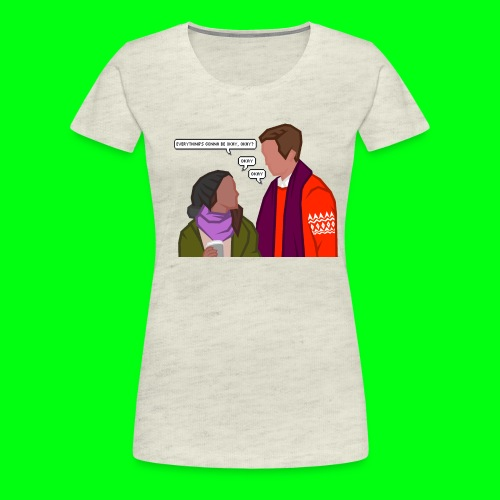 Paul and Emma (with text) - Starkid's Black Friday - Women's Premium T-Shirt