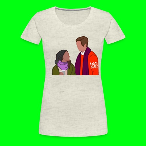 Paul and Emma - Starkid's Black Friday - Women's Premium T-Shirt