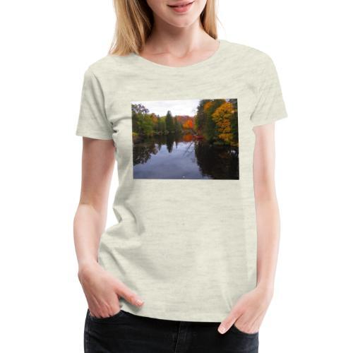 Nature Coffee Cup - Women's Premium T-Shirt