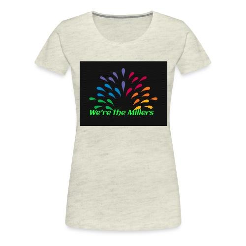 We're the Millers logo 1 - Women's Premium T-Shirt