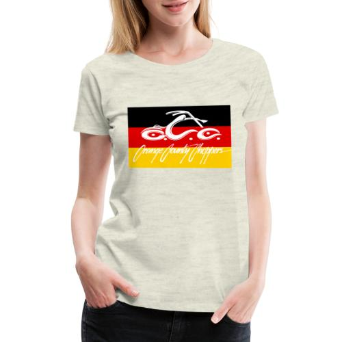 OCC German Flag - Women's Premium T-Shirt