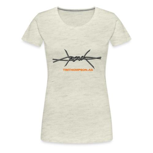 T Shirt Wire - Women's Premium T-Shirt