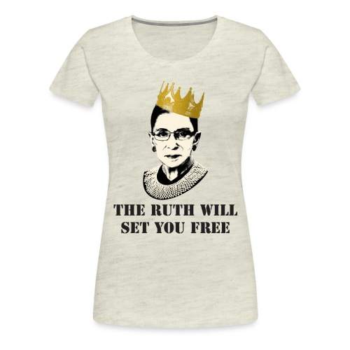 Notorious RBG Shirt - Women's Premium T-Shirt
