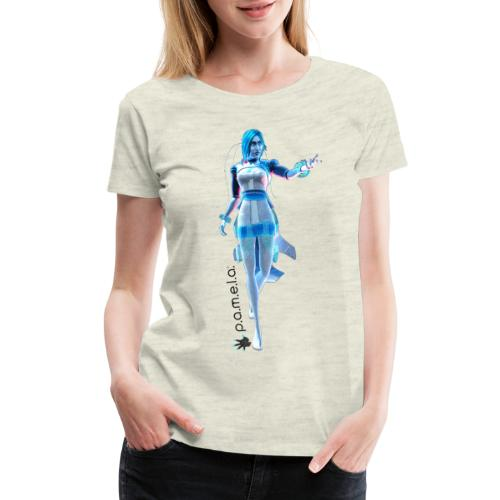 P.A.M.E.L.A. Figure - Women's Premium T-Shirt