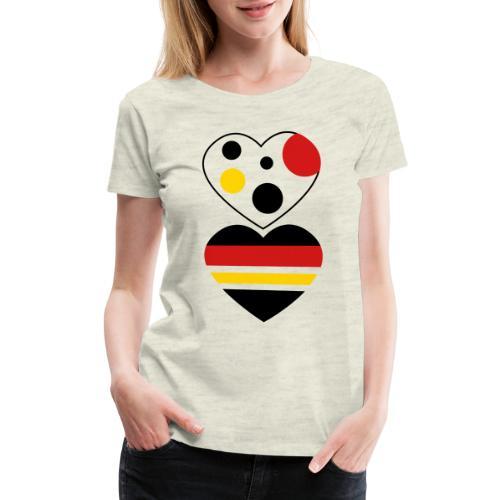 two hearts - Women's Premium T-Shirt