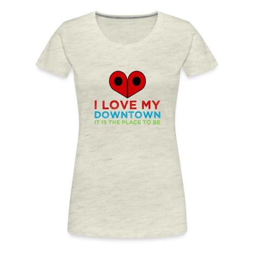PlaceToBe - Women's Premium T-Shirt