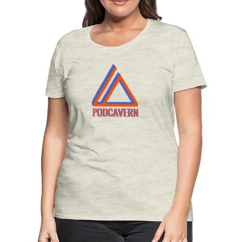 PodCavern Logo - Women's Premium T-Shirt