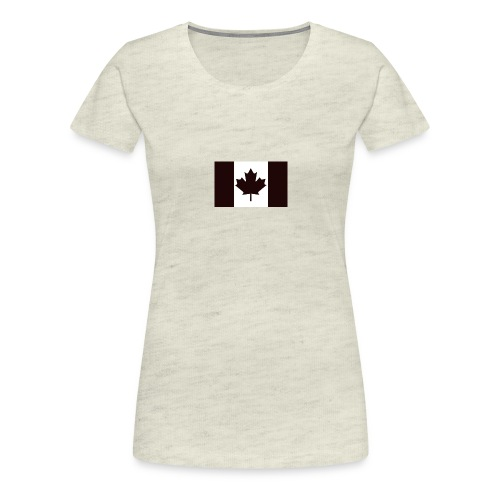 Military canadian flag - Women's Premium T-Shirt