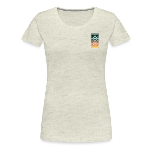 Ventures Belong To The Adventurous || VAN LIFE - Women's Premium T-Shirt